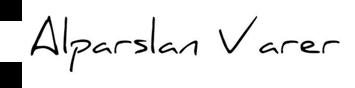 Alparslan Varer'in Resmi Web Sitesidir.